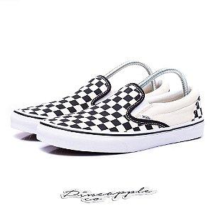"""Vans Slip On Checkerboard """"White/Black"""""""