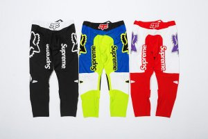 ENCOMENDA - Supreme x Fox Racing - Calça Moto Top