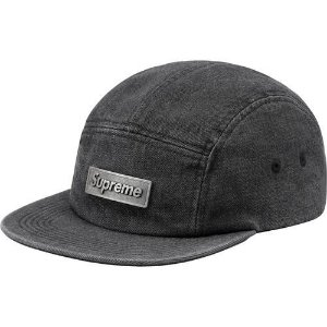 "SUPREME - Boné Metal Plate Camp ""Black"""