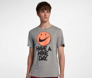 "NIKE - Camiseta Have a Nike Day ""Grey"""
