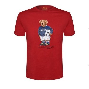 "Polo Ralph Lauren - Camiseta Polo Bear Soccer ""Red"""