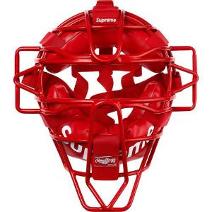 "Supreme x Rawlings - Máscara Catcher's ""Red"""