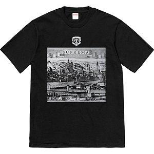 """SUPREME - Camiseta Fiorenza """"Black"""""""