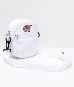 "ODD Future - Bolsa Shoulder OF Logo ""White"""
