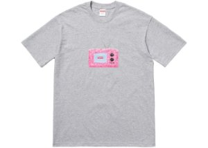 "SUPREME - Camiseta TV ""Grey"""