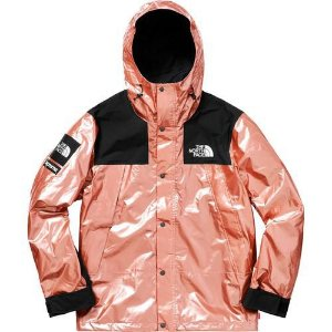 "Supreme x The North Face - Jaqueta Metallic Mountain ""Rose Gold"""