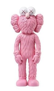 "KAWS - BFF Vinyl Open Edition ""Pink"""