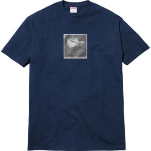 "SUPREME - Camiseta Chair ""Navy"""
