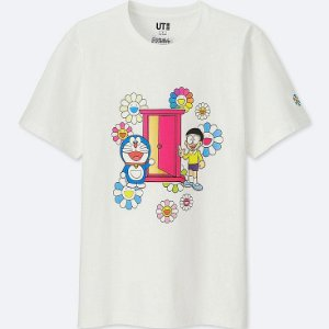 "UNIQLO X Takashi Murakami - Camiseta Doraemon Door ""White"""