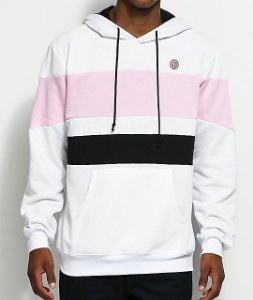 "ODD Future - Moletom Block ""White/Pink/Black"""