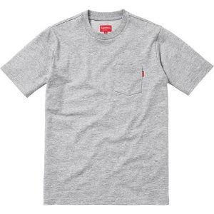 "SUPREME - Camiseta Pocket ""Grey"""