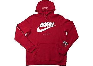 "ENCOMENDA - TDE x Nike - Moletom Swoosh Logo ""Red"""