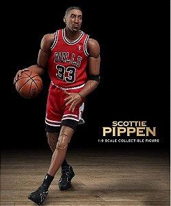 ENCOMENDA  - Enterbay - Scottie Pippen (White Basketball Edition) 1/9