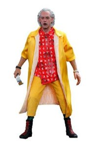 ENCOMENDA  - Hot Toys - Back To The Future II Dr Emmett Brown 1/6