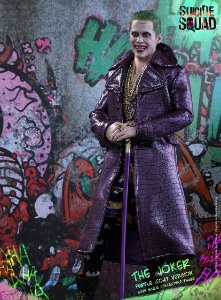 ENCOMENDA - Hot Toys - Suicide Squad Joker Purple Coat 1/6