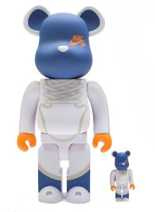 ENCOMENDA - BEARBRICK - NIKE SB DUNK ELITE HIGH 100% 400%