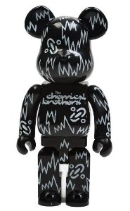 ENCOMENDA - BEARBRICK - THE CHEMICAL BROTHERS 400%