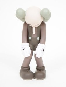 ENCOMENDA - KAWS - Small Lie - (Brown)