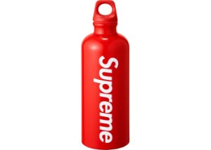 "SUPREME - Garrafa SIGG Traveller ""Red"""