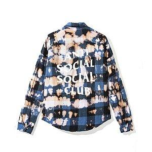 "ANTI SOCIAL SOCIAL CLUB  - Camisa PSY Buffalo ""Blue"""