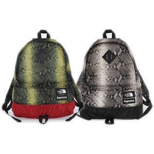 ENCOMENDA - Supreme x The North Face - Mochila Snakeskin Lightweight