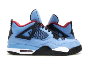 "ENCOMENDA - Nike Jordan 4 Retro Travis Scott Cactus Jack ""Blue"""