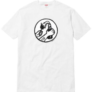"""SUPREME - Camiseta Molotov """"White"""" -NOVO-"""