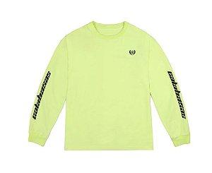 "ENCOMENDA - Kanye West - Camiseta Manga Longa Yeezy Calabasas ""Frozen Yellow"""