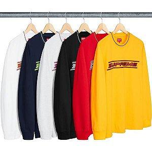 ENCOMENDA - SUPREME - Camiseta Manga Longa Bevel