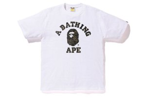 ENCOMENDA - BAPE - Camiseta College Foil Neon Camo