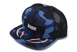 ENCOMENDA - BAPE - Boné Color Camo Shark Mesh