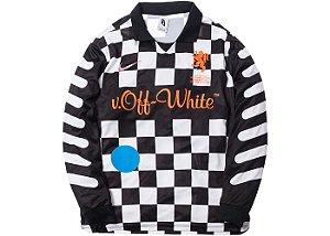 """ENCOMENDA - Nikelab x OFF-WHITE - Camiseta Mercurial NRG X FB """"Black"""""""