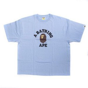 "BAPE - Camiseta College ""Light Blue"""