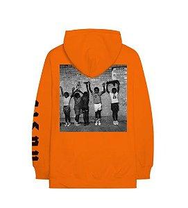 """ENCOMENDA - Nas - Moletom Nasir """"Orange"""""""
