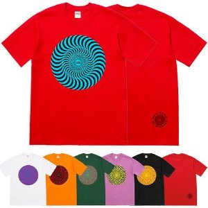 ENCOMENDA - Supreme x Spitfire - Camiseta Classic Swirl