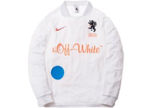 "Nike x OFF-WHITE - Camisa Jersey Mercurial NRG X FB ""White"""