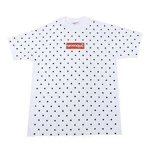 """Supreme x Comme des garçons - Camiseta Box Logo """"White"""""""