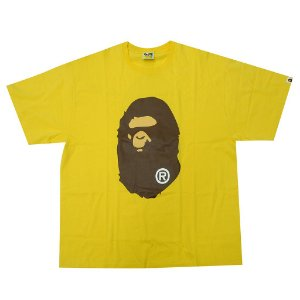 "BAPE - Camiseta Big Head Ape ""Yellow"""