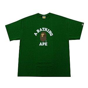 "BAPE - Camiseta College ""Green"""