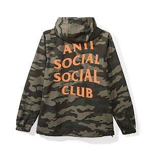 "ANTI SOCIAL SOCIAL CLUB - Jaqueta Mak Camo Anorak ""Green"""