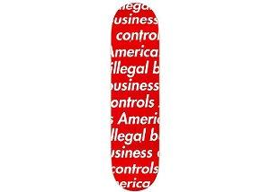 SUPREME - Shape Illegal Business Skateboard Deck