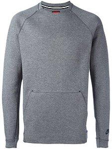 "NIKE - Moletom Tech ""Grey"""