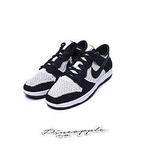 """Nike Dunk Low Flyknit """"Black/Wolf Grey"""""""