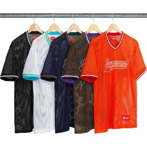 ENCOMENDA - SUPREME - Camiseta Mesh Baseball Top