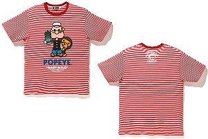 ENCOMENDA - BAPE x Popeye - Camiseta Hoop