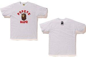ENCOMENDA - BAPE x Popeye - Camiseta APE HEAD College
