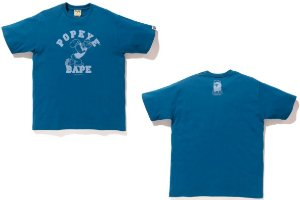 ENCOMENDA - BAPE x Popeye - Camiseta College #1
