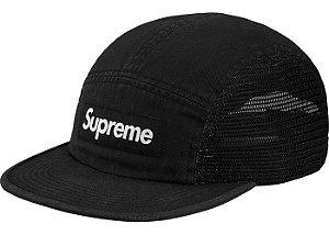 "SUPREME - Boné Mesh Side Panel Camp ""Black"""