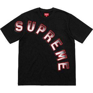 """SUPREME - Camiseta Gradient Arc Top """"Black"""""""