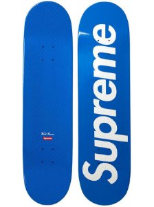 SUPREME - Shape OG Supreme Logo Skateboard Deck